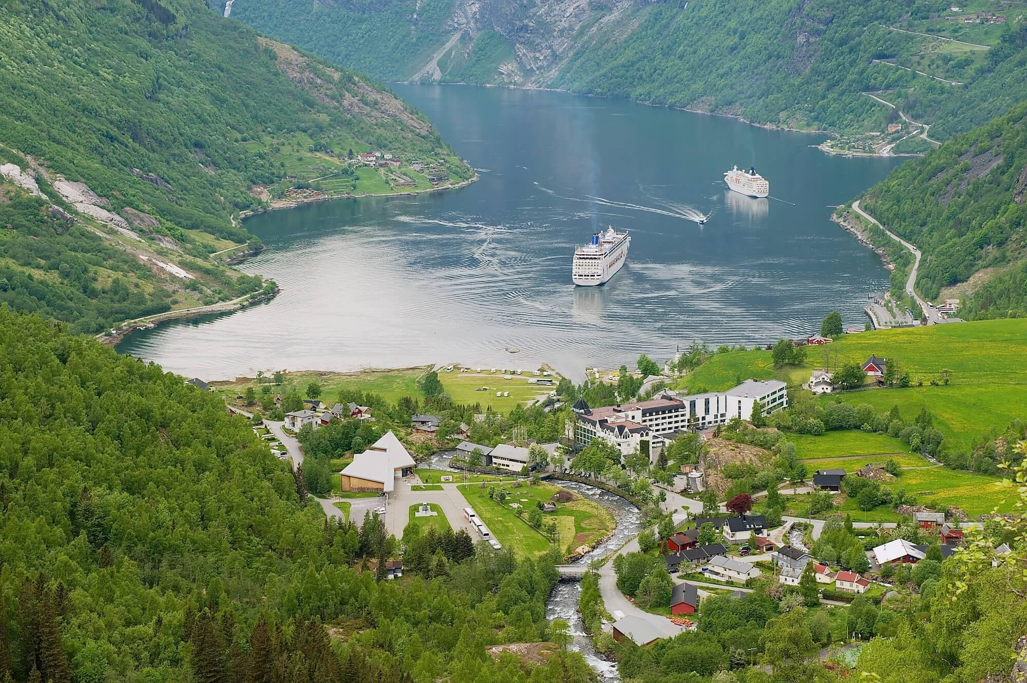 copenhague  les magnifiques fjords de norvege en